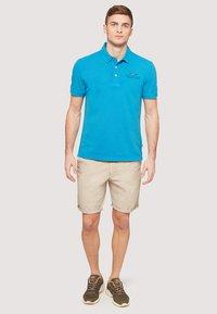 Napapijri - ELBAS - Polo shirt - turquoise - 1