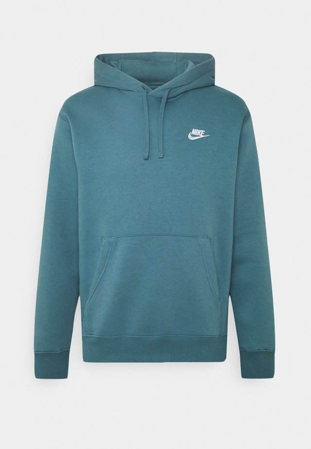 Club Hoodie - Bluza z kapturem - ash green/white