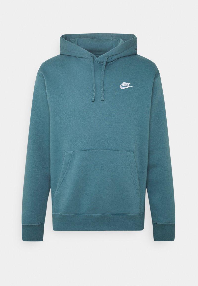 Nike Sportswear - CLUB HOODIE - Hoodie - ash green/white