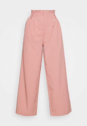 AMILA PANTS - Trousers - ash rose