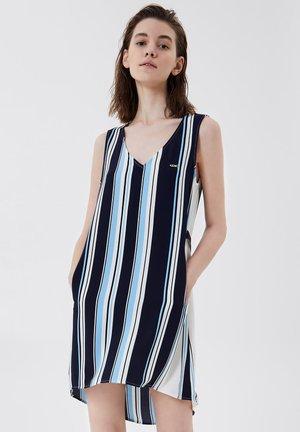 Day dress - stripes/blue