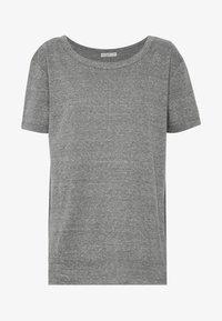 THE HERITAGE TEE - Basic T-shirt - black snow