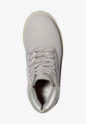 Botki sznurowane - light grey nubuck