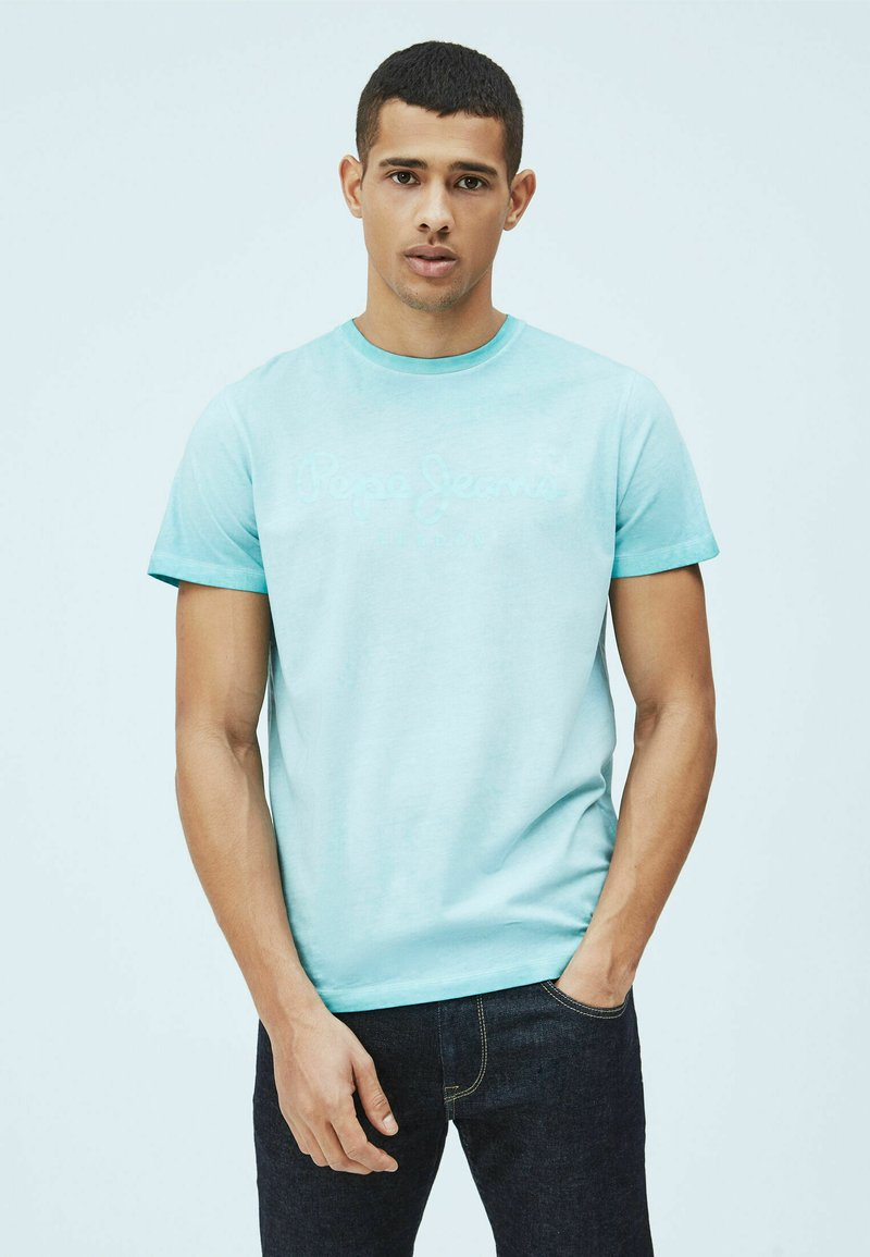 Pepe Jeans - WEST SIR - Print T-shirt - jetty