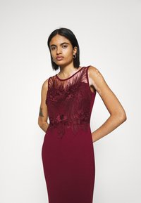 WAL G. - DAISY EMBELLISHED DRESS - Occasion wear - wine - 3