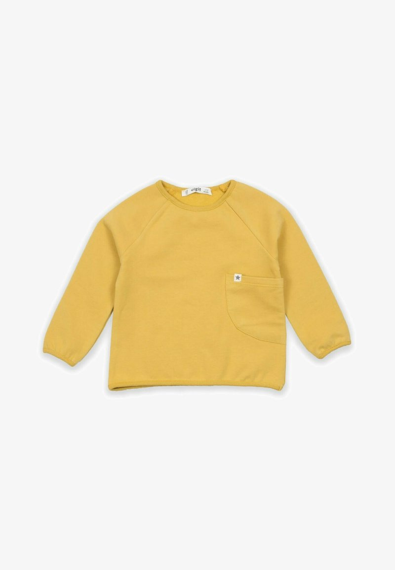 Cigit - POCKET - Sweatshirt - mustard yellow