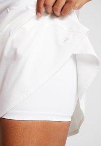 Puma Golf - PWRSHAPE SOLID SKIRT - Sports skirt - bright white - 3