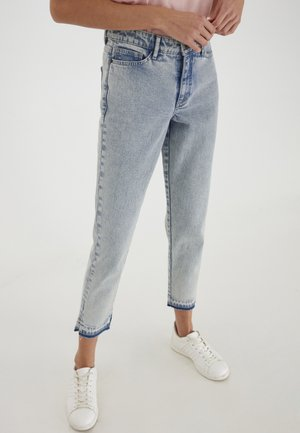Relaxed fit jeans - light blue stone washed