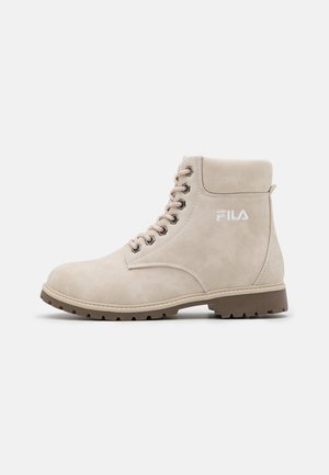 MAVERICK - Lace-up ankle boots - oyster grey