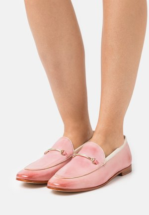SCARLETT 47 - Loafers - rose/white/gold/natural