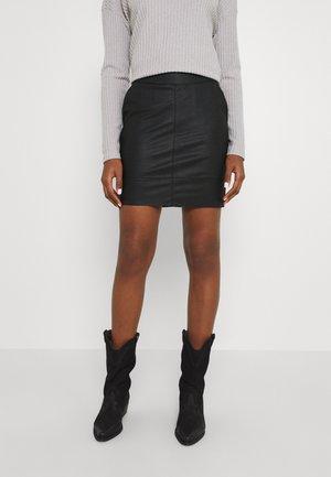 ONLBASE SKIRT - Mini skirt - black