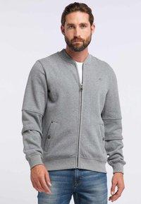 DreiMaster - DREIMASTER - Zip-up hoodie - grey melange - 0
