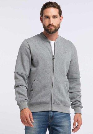 DREIMASTER - Zip-up hoodie - grey melange
