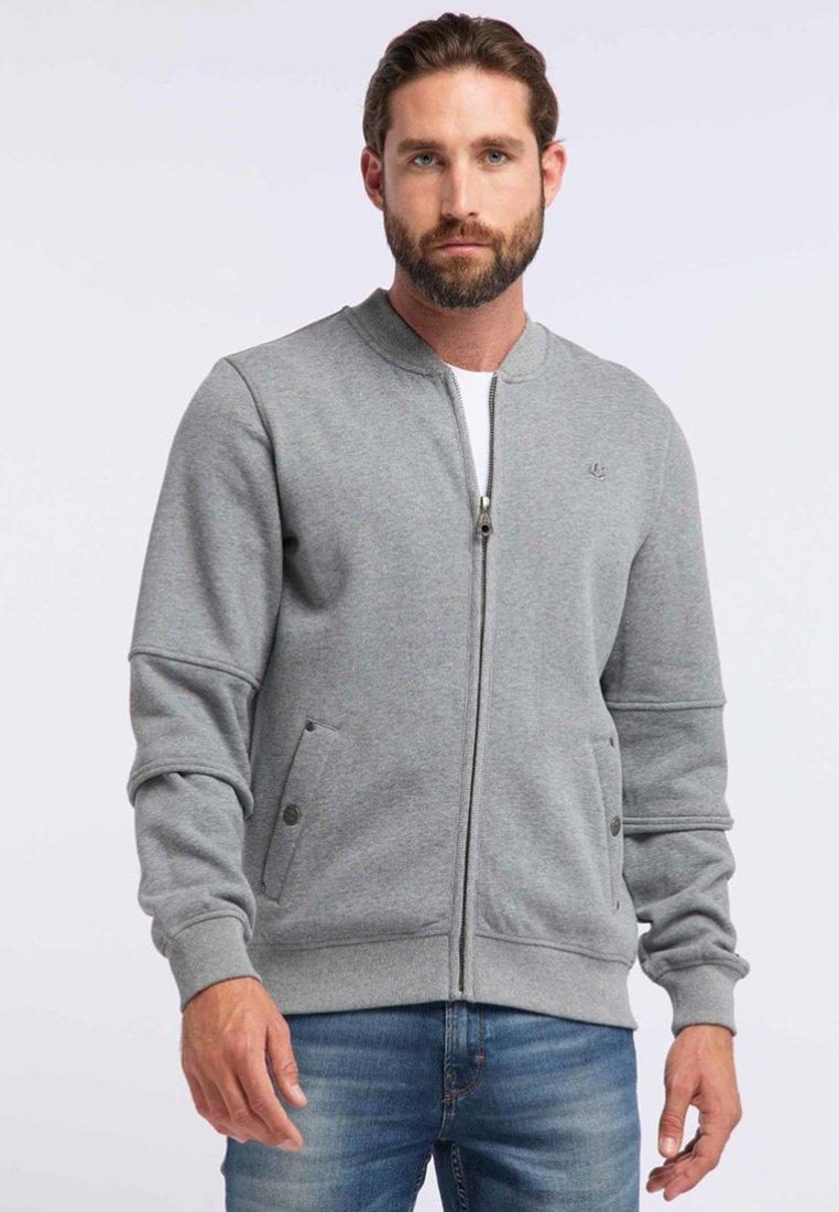 DreiMaster - DREIMASTER - Zip-up hoodie - grey melange