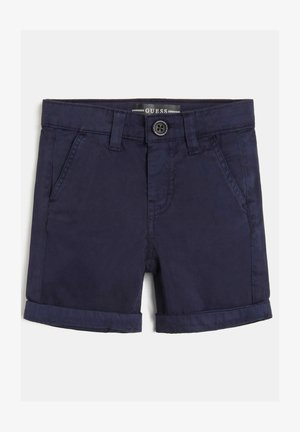 REGULAR FIT - Short - blau