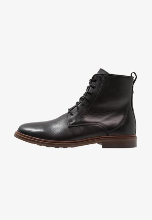 NED - Lace-up ankle boots - black
