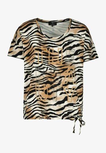 MIT TIGER-ALLOVER-PRINT - Print T-shirt - tiger print
