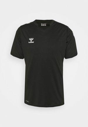 CORE XK - Print T-shirt - black