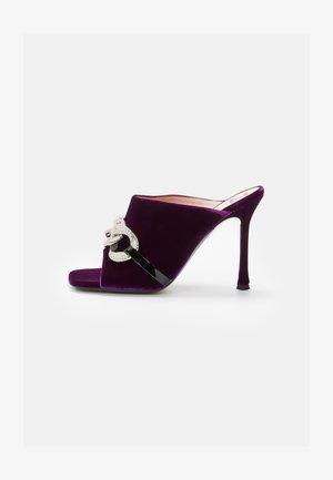 MULE - Heeled mules - purple