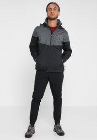 Columbia - Veste imperméable - black/dark grey - 1