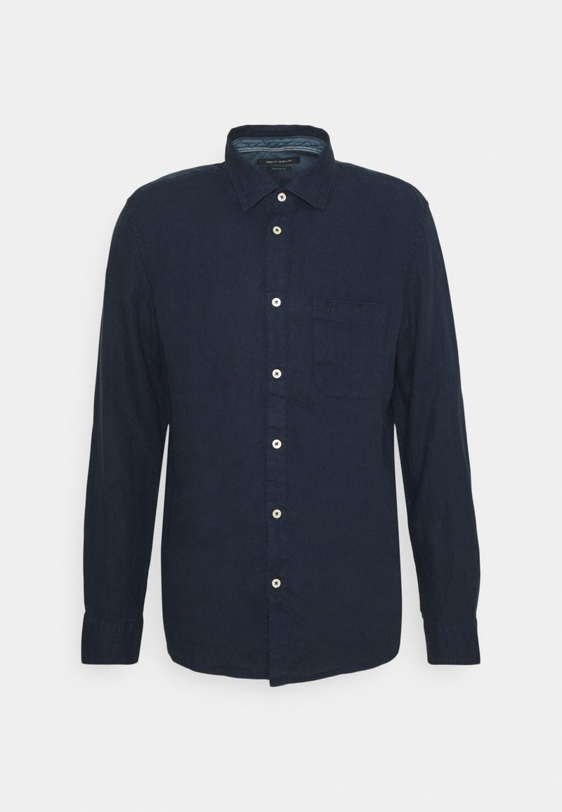 Marc O'Polo - KENT COLLAR LONG SLEEVE INSERTED - Košile - total eclipse