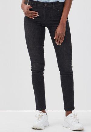 PUSH UP - Jeans Skinny Fit - black denim