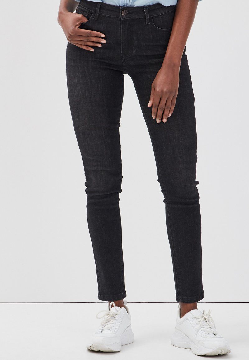 Cache Cache - PUSH UP - Jeans Skinny Fit - black denim