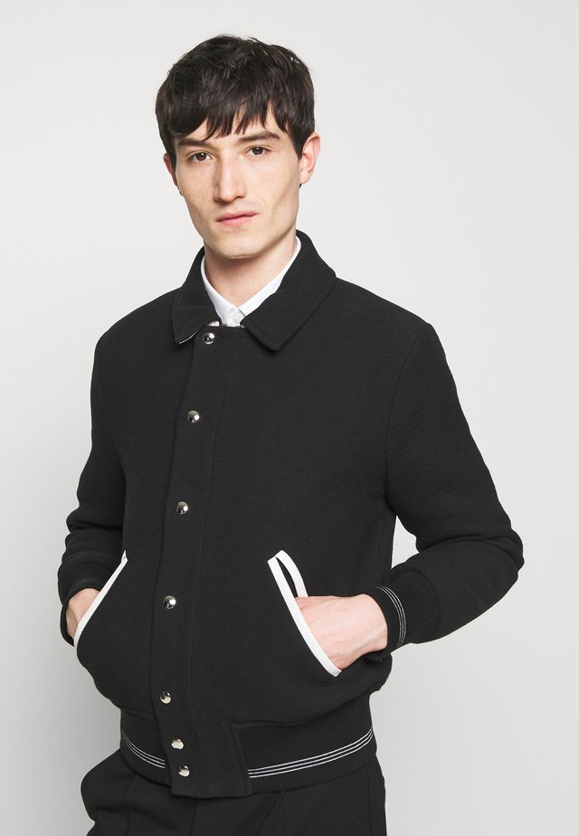 TUCKER - Giubbotto Bomber - black