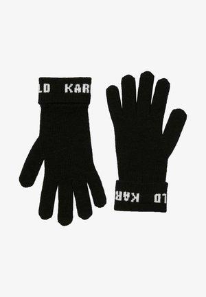 Handschoenen - black/ white