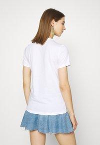 Diesel - T-SILY-E52 T-SHIRT - T-shirt print - white - 2