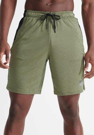 Sports shorts - seagrass twist