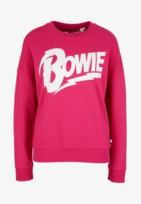 Q/S designed by - LANGARM - Sweatshirt - jazzy pink placed - 2