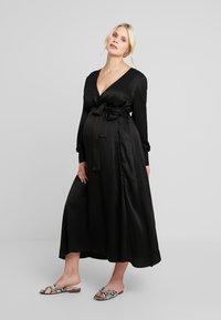 IVY & OAK Maternity - DRESS - Vestito estivo - black - 0