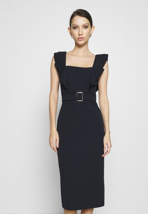 HUNTER BUCKLE DRESS - Koktejlové šaty / šaty na párty - navy