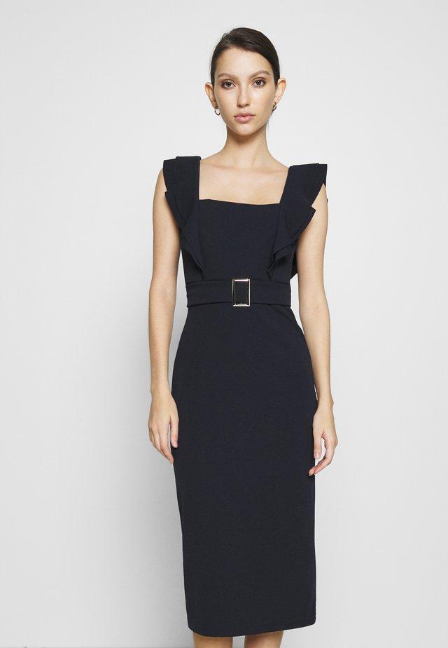 HUNTER BUCKLE DRESS - Vestito elegante - navy