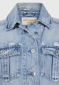 AllSaints - MAISY DENIM SHIRT JA - Denim jacket - blue - 2
