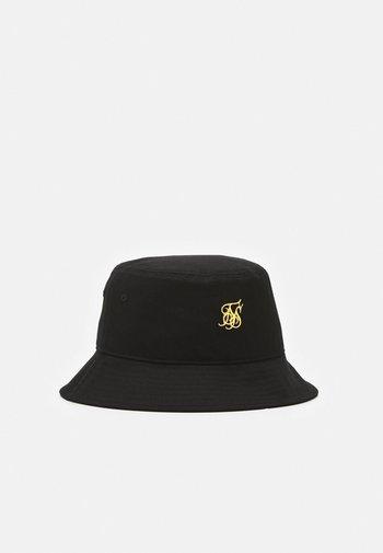 BUCKET HAT UNISEX - Sombrero - black/gold