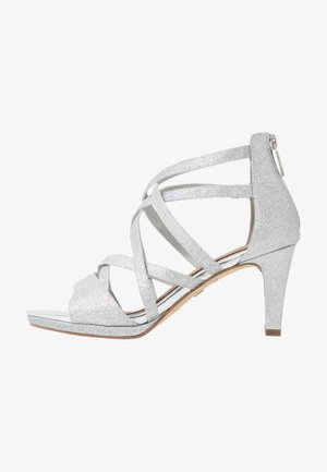 Sandały - silver glam