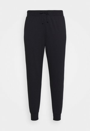 LOUNGEWEAR JOGGERS - Trainingsbroek - black