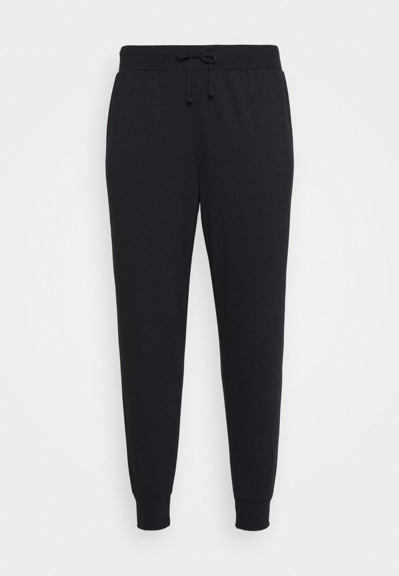 Even&Odd Curvy - LOUNGEWEAR JOGGERS - Tracksuit bottoms - black