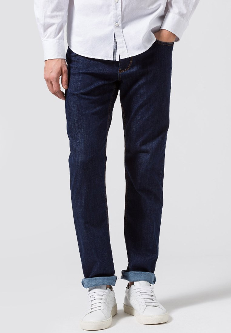 BRAX - STYLE COOPER  - Straight leg jeans - blue black
