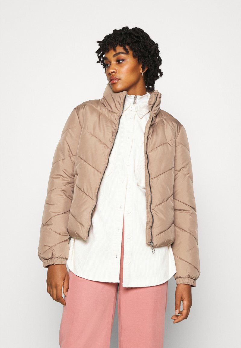 JDY - Winter jacket - burlwood