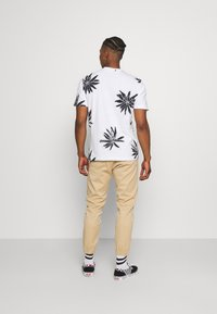 Only & Sons - ONSPOLE TEE - Print T-shirt - bright white - 2