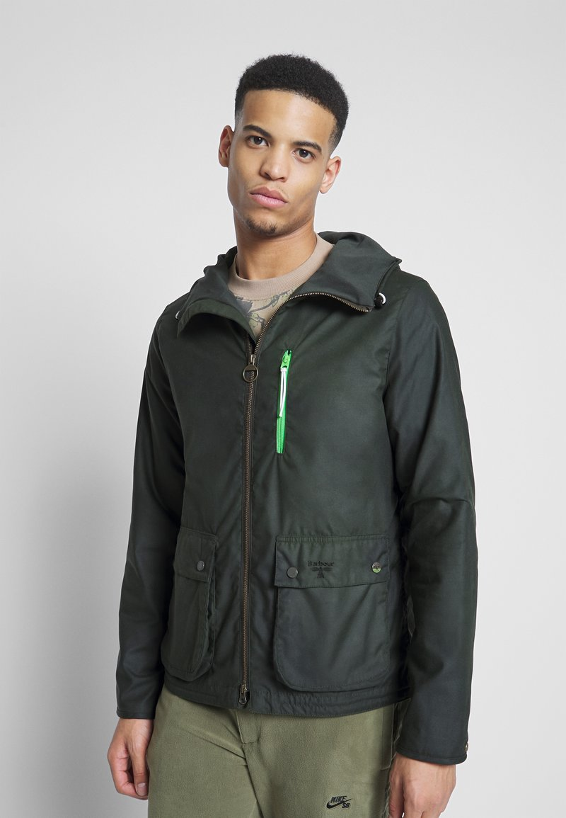 Barbour Beacon - HAWTHORN WAX - Summer jacket - sage