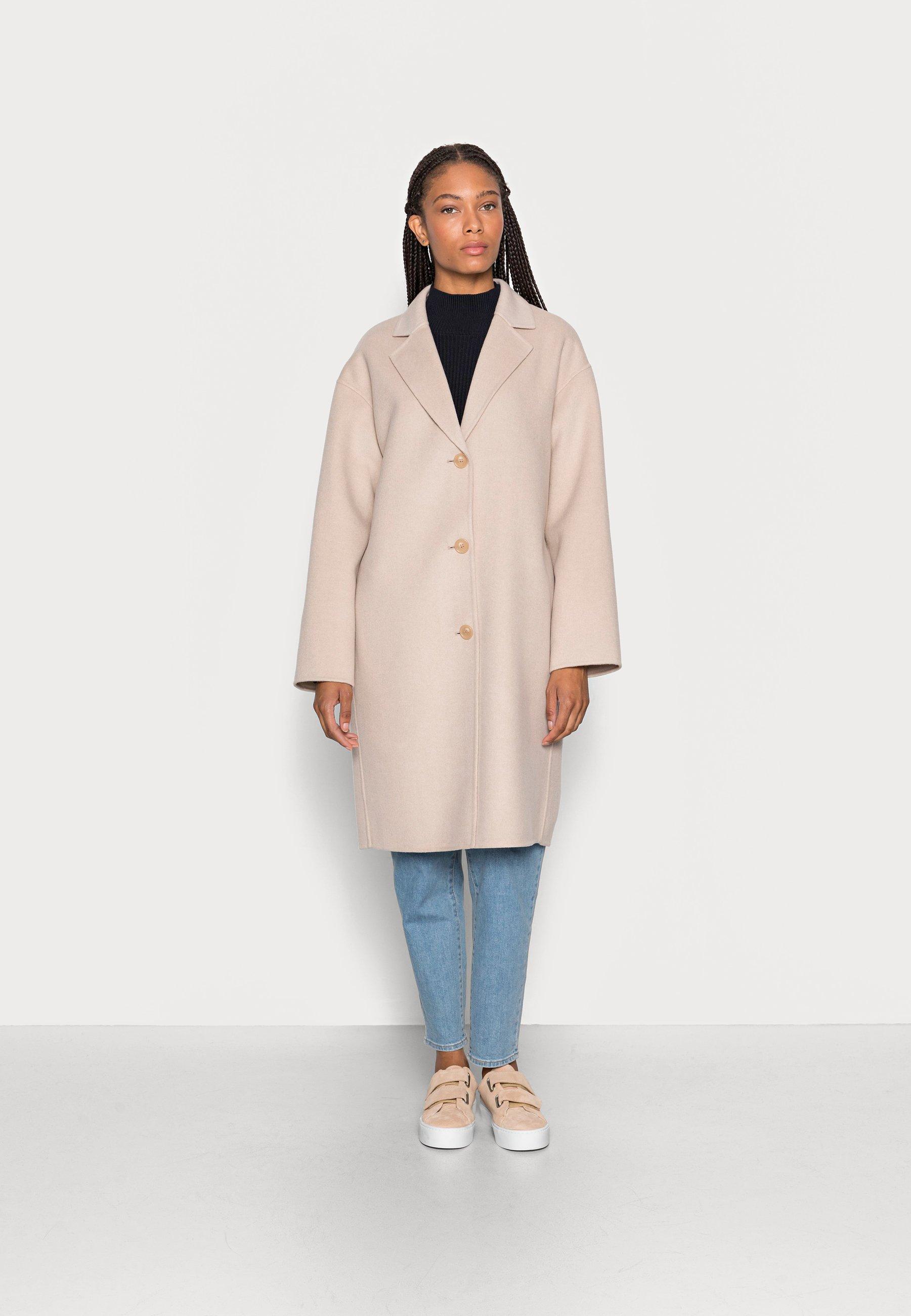 Damer REAL DOUBLE FACE WORKMANSHIP SINGLE BREASTED - Klassisk frakke