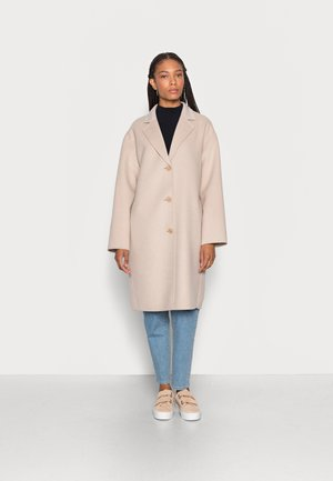 REAL DOUBLE FACE WORKMANSHIP SINGLE BREASTED - Classic coat - blushed camel