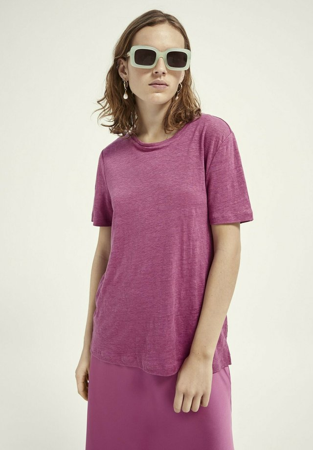 T-shirt basic - orchid