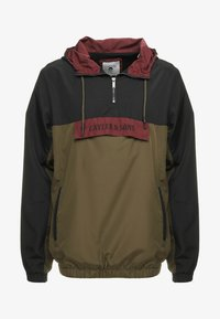 Cayler & Sons - WL ANCHORED ZIP ANORAK - Windbreaker - black/olive - 4