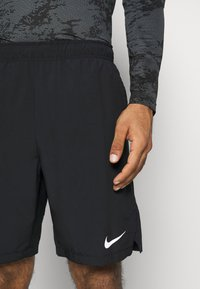 Nike Performance - FLEX SHORT - Sports shorts - black/white - 4