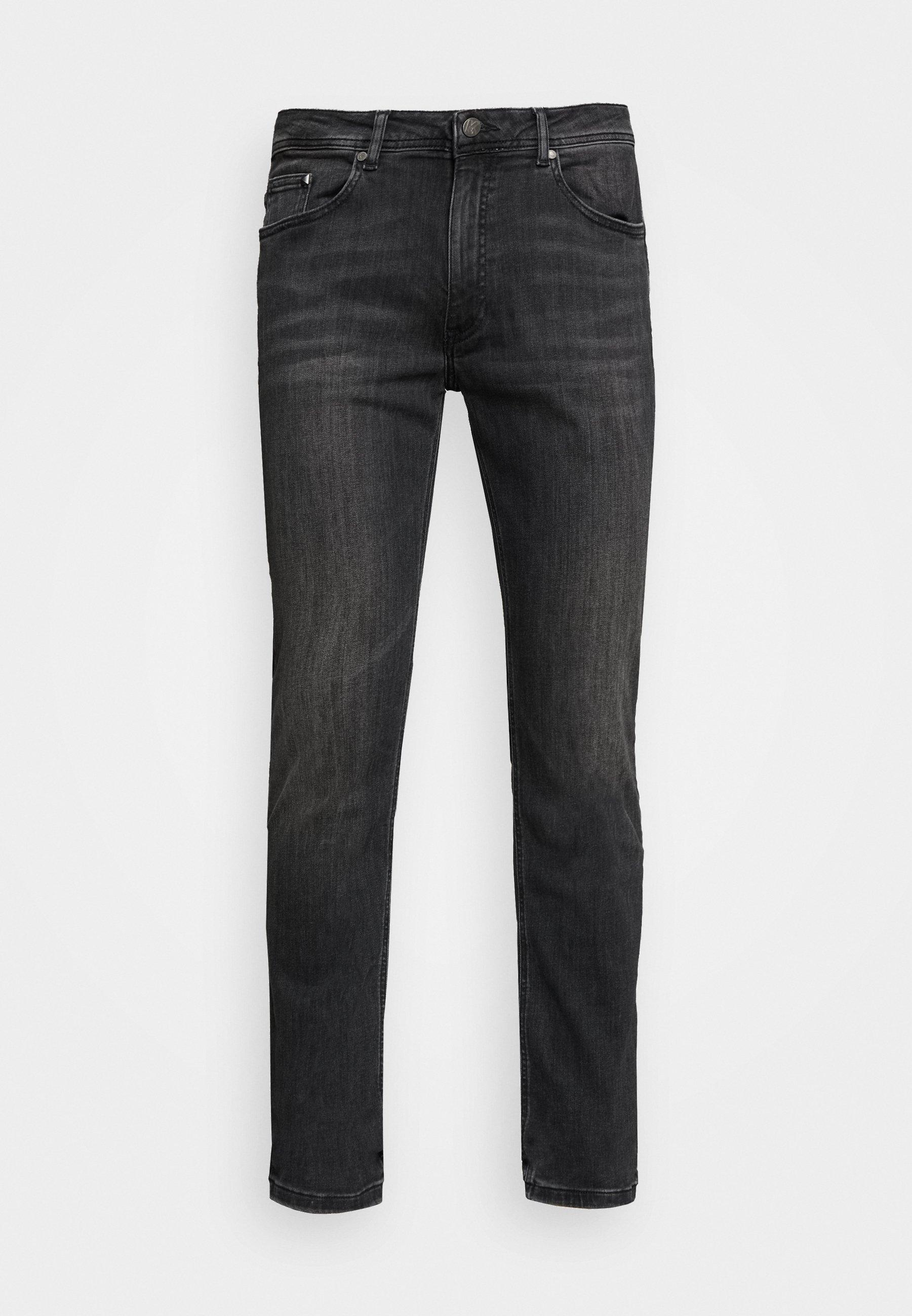 KARL LAGERFELD 5 POCKET - Jean slim - grey